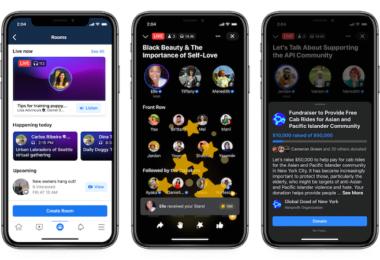 Facebook, Live Audio Rooms, Facebook Live Audio Rooms