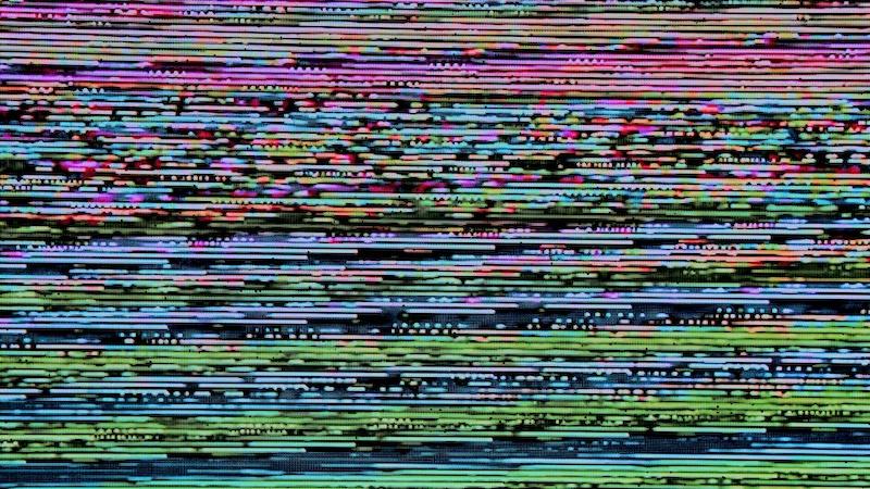 Störbildschirm, Störung, Facebook-Störung