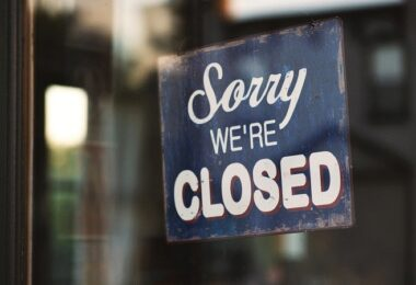 geschlossen, Laden, Geschäft, Facebook Entschädigungen