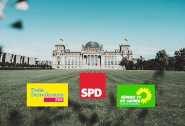 SPD, FDP, Grüne, Sondierungspapier