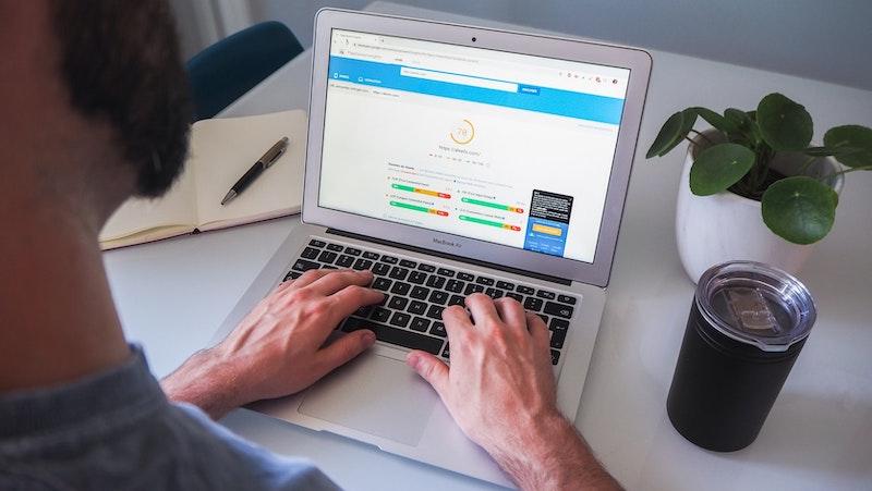 Website-Anmeldung Website Index Google IONOS