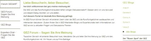 GEZ-Start