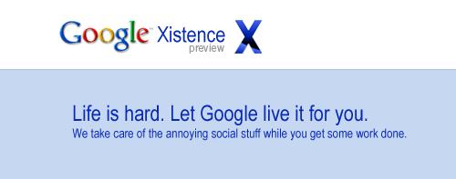 Google Xistence