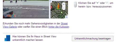 Das bange Zittern hat ein Ende: Ab sofort können Street View-'Opfer' drauflos löschen