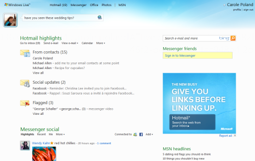 Microsoft pimpt Hotmail: Mit besserem UI, neuen Features und 10GB-Anhängen gegen Gmail