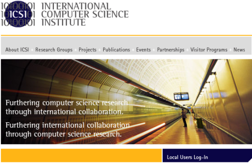 International Computer Science Institute