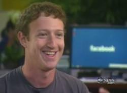 ... exklusiven Fernsehinterview mit dem Facebookgründer Marc Zuckerberg und ...