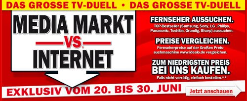 MediaMarkt Internet-Aktion