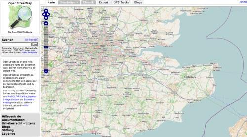 Google auf Abwegen? Open Street Map von einer Google IP-Adresse aus manipuliert