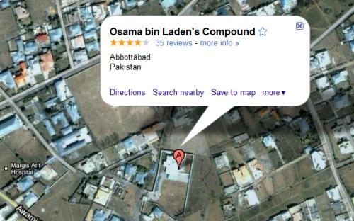 Osama bin Laden Versteck