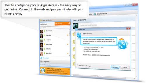 Skype und Telekom einen Schritt voran auf dem langen Weg zum Überall-Internet
