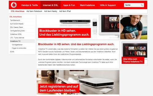 vodafone startet hybrid fernsehen internet wird nicht. Black Bedroom Furniture Sets. Home Design Ideas