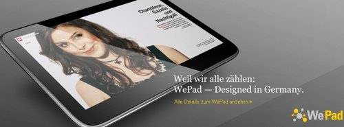 WePad - made in Germany?