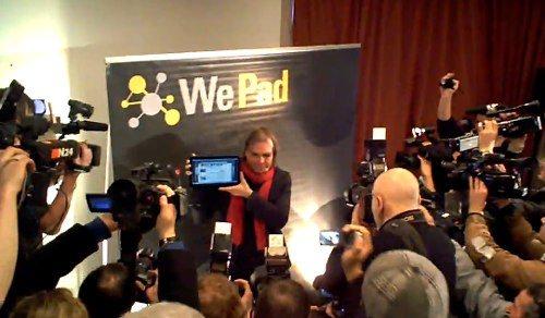 WePad Pressekonferenz