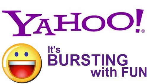 Yahoo Bursting with fun