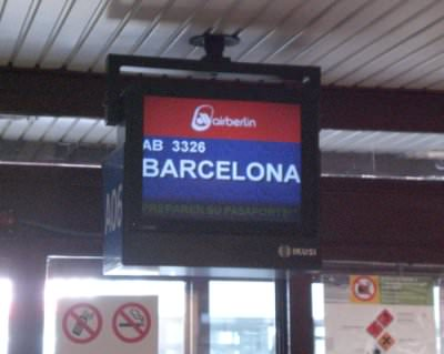 Auf nach Barcelona - zum Mobile World Congress 2009.
