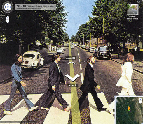 beatles-googlestreetview