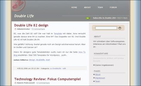 Double Life Blog