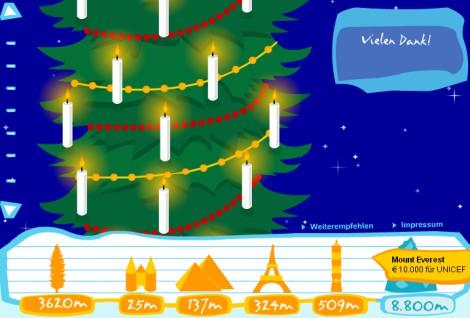 Dräger Weihnachtsaktion