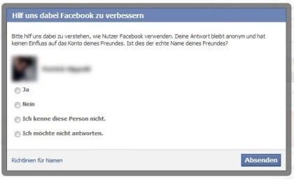 Facebook Klarnamen