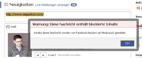 Profilvernichter Seppukoo: Facebook fährt schweres juristisches Geschütz auf