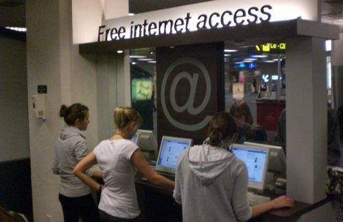 Gratis Internet am Flughafen Singapur