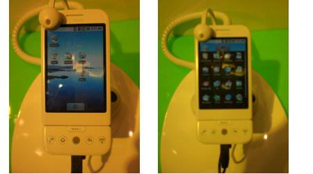 So sieht Google Android auf htc-Handys aus.