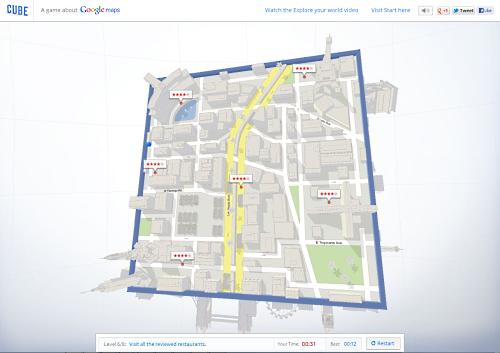 Google Maps als 3D-Labyrinth: Mit der Kugel durch die Stadt rollen