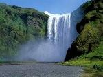 Skogafoss Wasserfall in Skogar