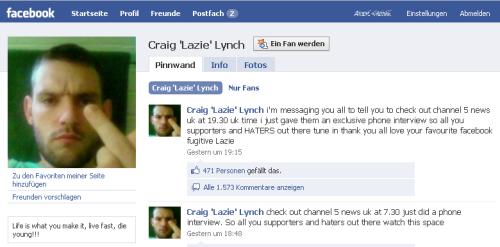 Social Media ist für alle da: Auch für Craig, den Gefängnisausbrecher (Update!)