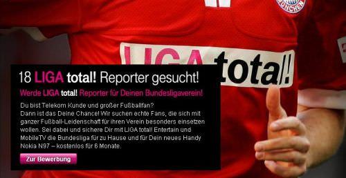 Liga total sucht Fan-Reporter