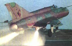 startende Mig-21