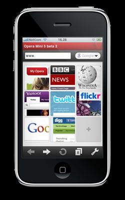 Endlich: Opera für das iPhone kurz vor der Veröffentlichung?
