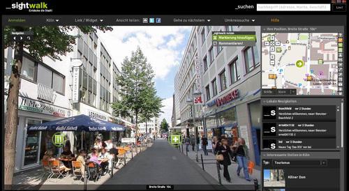 Google Street View-Theater: Warum regt sich keiner über 'Sightwalk' auf?