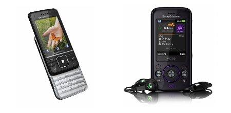 Sony Ericsson C903 (links) und W395.