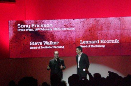 Sony Ericsson - International Press Conference in Barcelona.