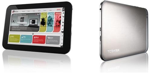 AT270: AMOLED-Tablet von Toshiba im Anflug