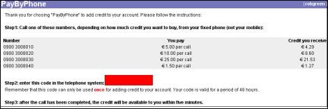 Bezahlen per Phone