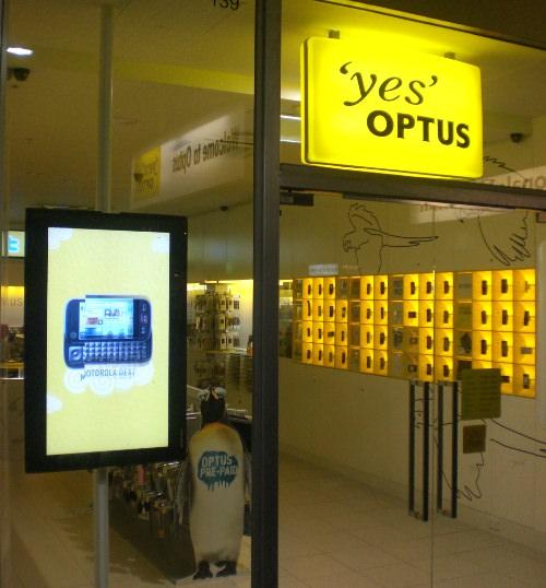 Yes Optus AUstralia